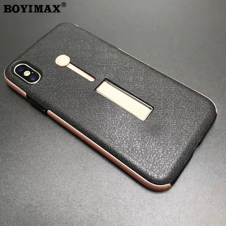 Mobile phone case TPU+PC with holder full protection cover supplier-360N07 7