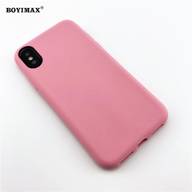 Mobile phone case liquid silicone pure color cover manufactory supplier -LS07 12