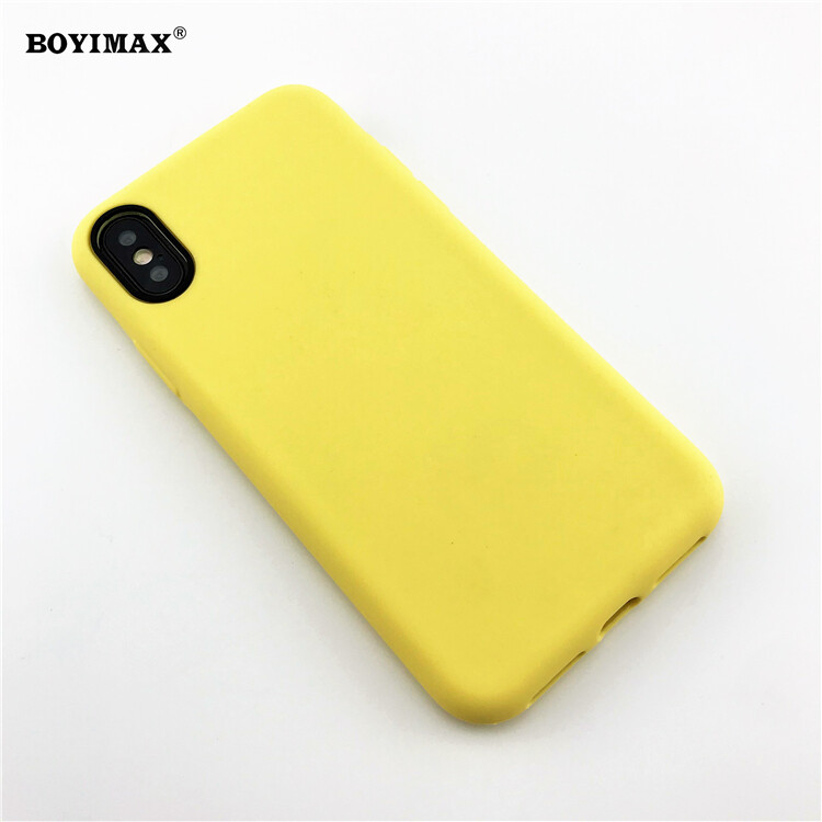 Mobile phone case liquid silicone pure color cover manufactory supplier -LS07 13