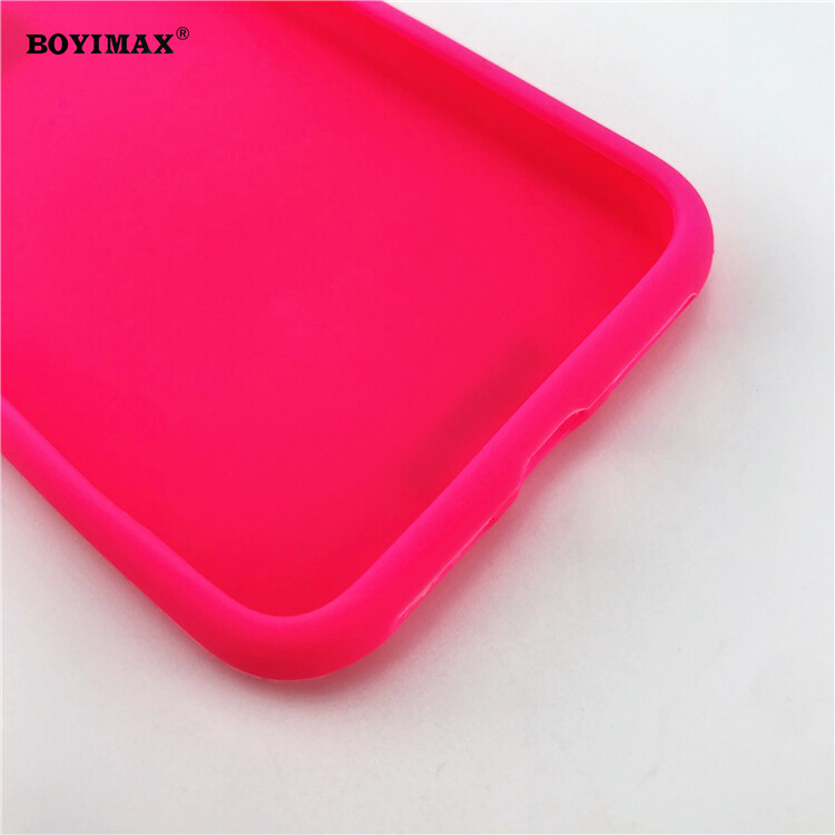 Mobile phone case liquid silicone pure color cover manufactory supplier -LS07 17