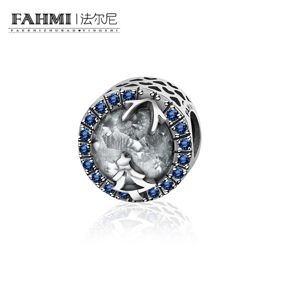 FAHMI 2018 new arrival Christmas tree white crystal stone 0