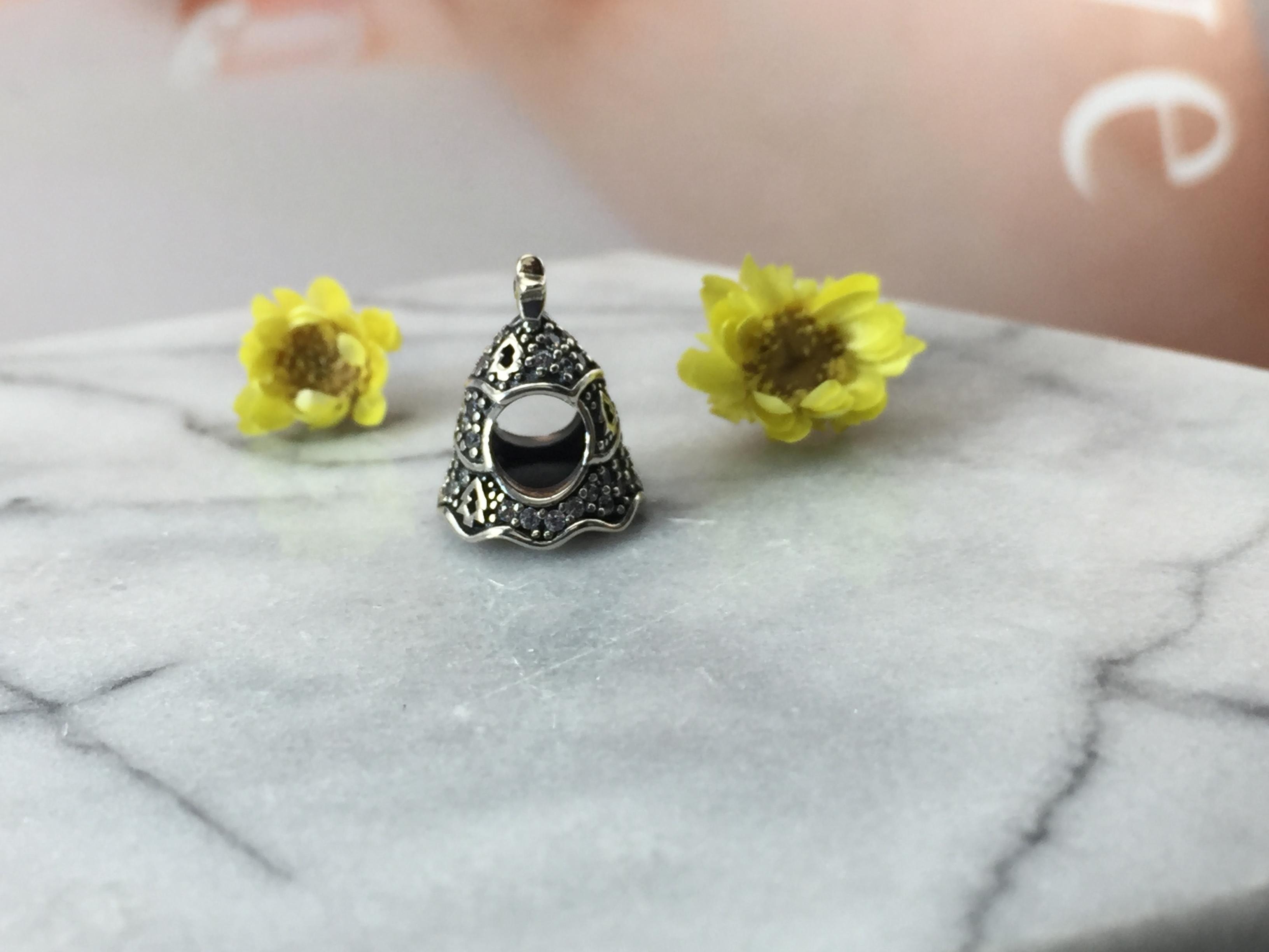 FAHMI 100% 925 Sterling Silver 1:1 Authentic 791765CZ Twinkling Christmas Tree Charm  Bracelet Original  Women  Jewelry 2