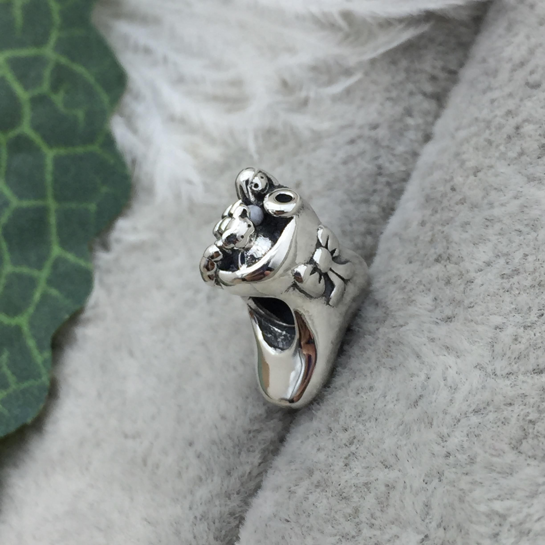 FAHMI 100% 925 Sterling Silver 1:1 791038 Christmas Stocking Charm Beaded DIY Bracelet Original Jewelry Free Shipping 5