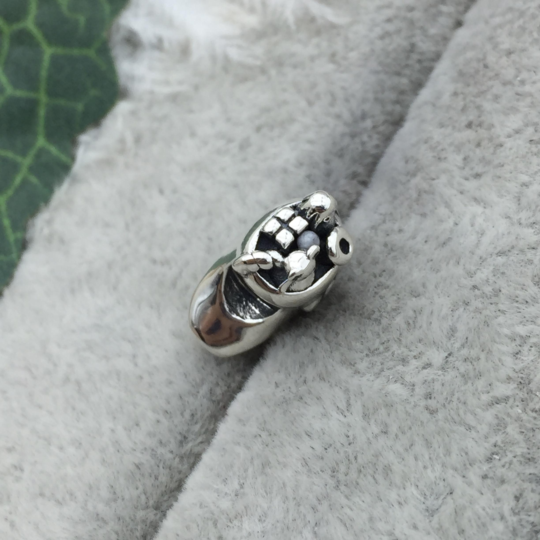 FAHMI 100% 925 Sterling Silver 1:1 791038 Christmas Stocking Charm Beaded DIY Bracelet Original Jewelry Free Shipping 7