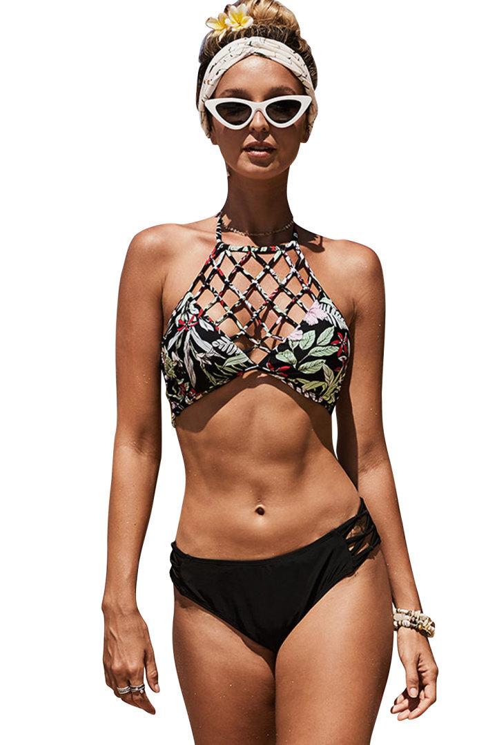 Sexy Solid Bikini Set Women Triangle Swimwear New Low Waist Bathing Suit Summer Beach Wear Female Red Swimsuit Biquini