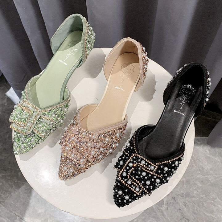 Summer Single Shoes Woman Cane Weave Breathable Straw Mules Slippers Moccasins Bow Slip-On Flats Sandals Women Flipflops