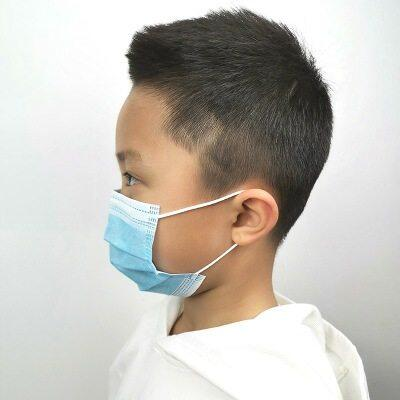 20pcs Mouth Mask Kids Children Maska Mondkapje Kawaii Print Facemask Mascherine For Girls Boys Safety Mask
