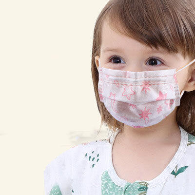 20 Pcs Maske New In Stock Mouth Boy Girl Cotton Face Anime For Cycling Camp Mouth-muffle Washable Reusable Face Mascarillas Health Care