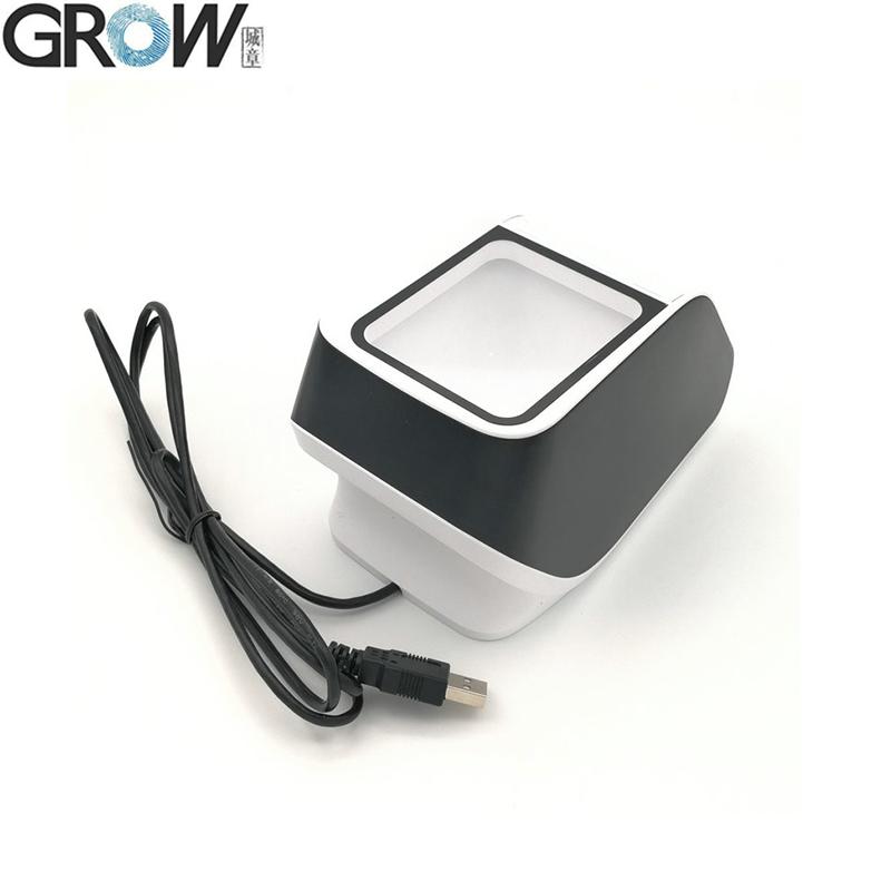 GROW GM79 Desktop Omnidirectional Scanning Platform USB 1D 2D Barcode Scanner Reader Module 3