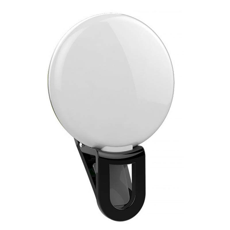 Portable Selfie Flash Led Camera Clip-on Mobile phone Selfie ring light video light Night Enhancing Fill Light 5