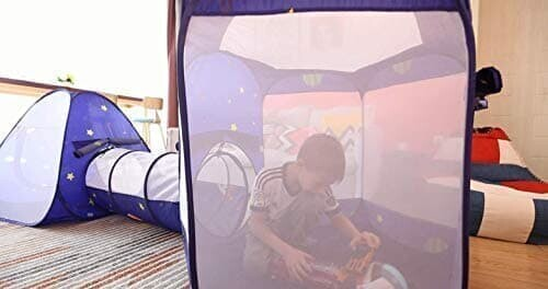 Homfu Kids Pop-Up Tent with Tunnel 3 in 1 Playhouse for Toddler&Children Birthday Gift to CrawlHomfu Kids Pop-Up Tent with Tunnel 3 in 1 Playhouse for Toddler&Children Birthday Gift to Crawl