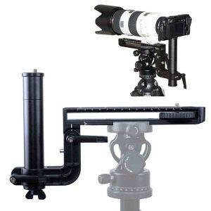 Longfocus Lens Support Camera Quick Release Plate for Ballhead Tripod Mount Ring