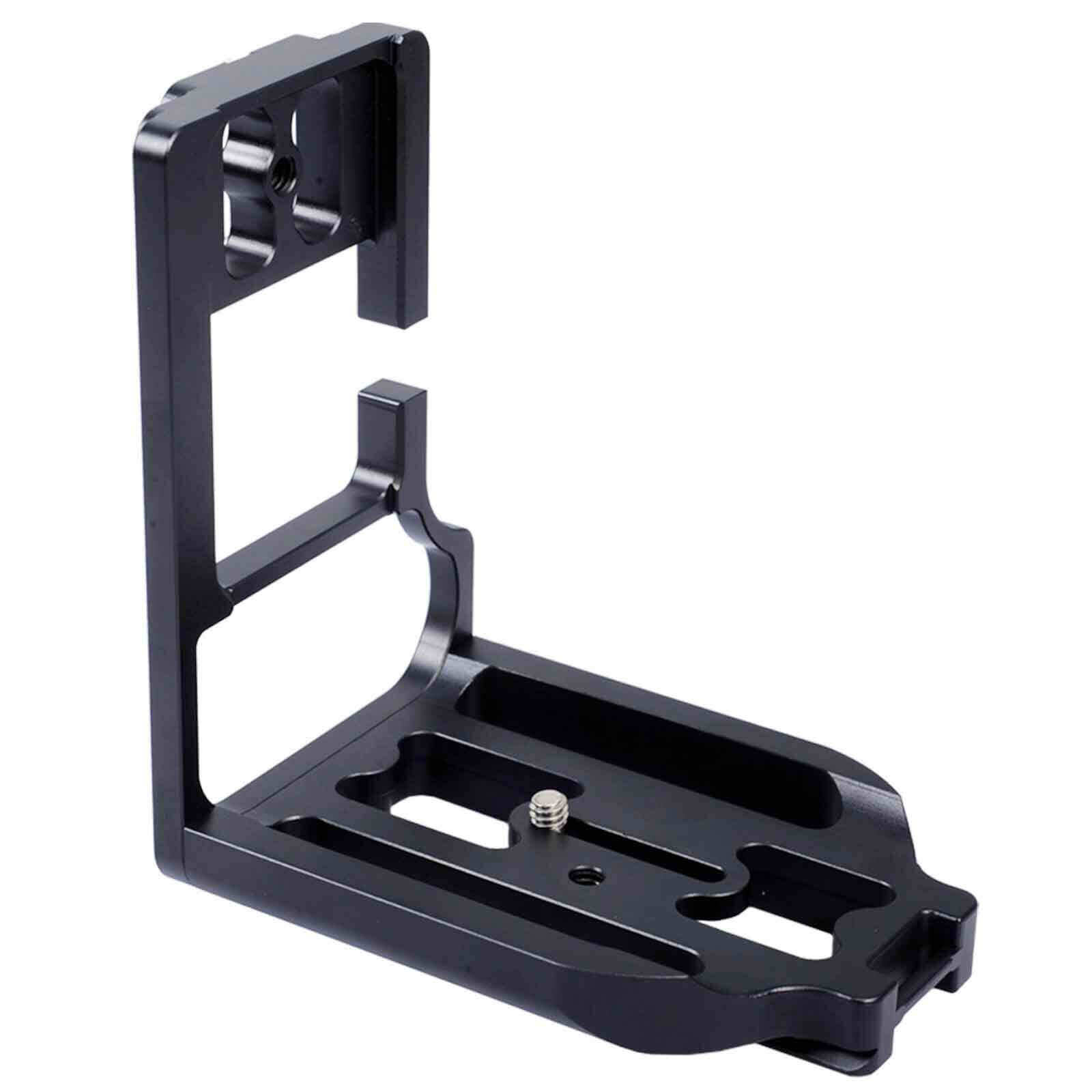 Separable Quick Release Plate Camera Bracket Grip for Ball Head Canon EOS 1DX