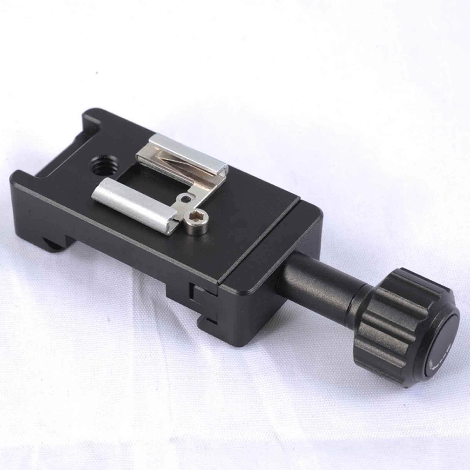 Clamp Shoe Mount Speedlite Flash bracket for Camera L Quick Release Plate