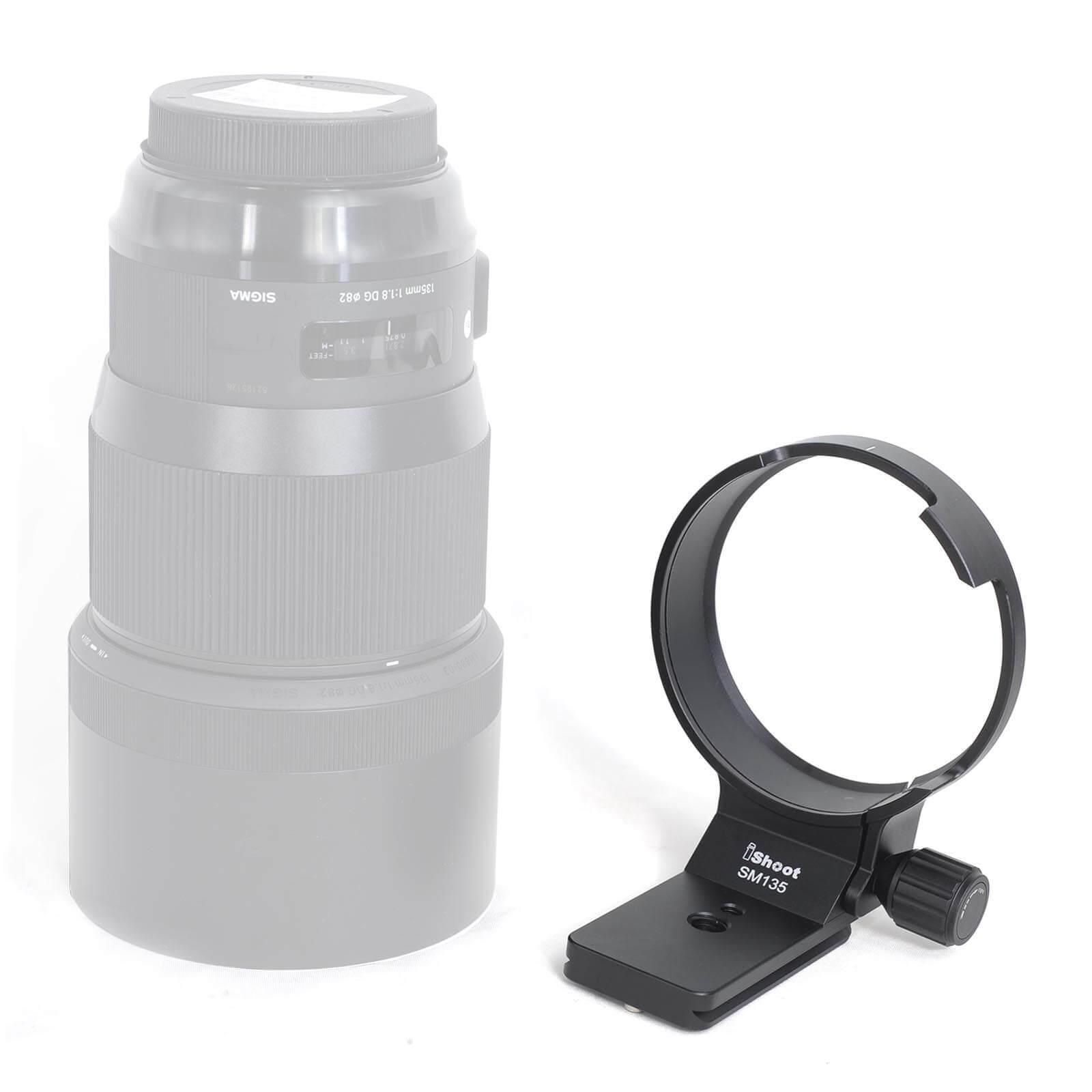 Tripod Mount Ring Lens Collar for Sigma 135mm f/1.8 DG HSM Art (for Canon Nikon)