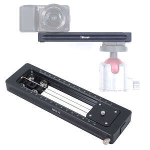 280mm Mini Damping Macro Focusing Rail Slider for Close-up Photography and Video