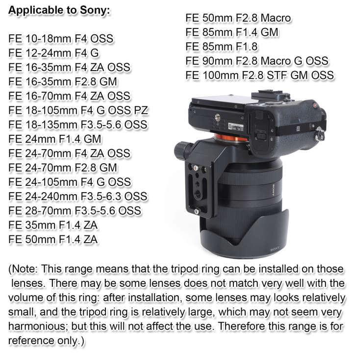 Professional Dual Handle Aluminum 67 Tripod for Sony Vario-Tessar T FE 24-70mm f//4 ZA OSS Bubble Level