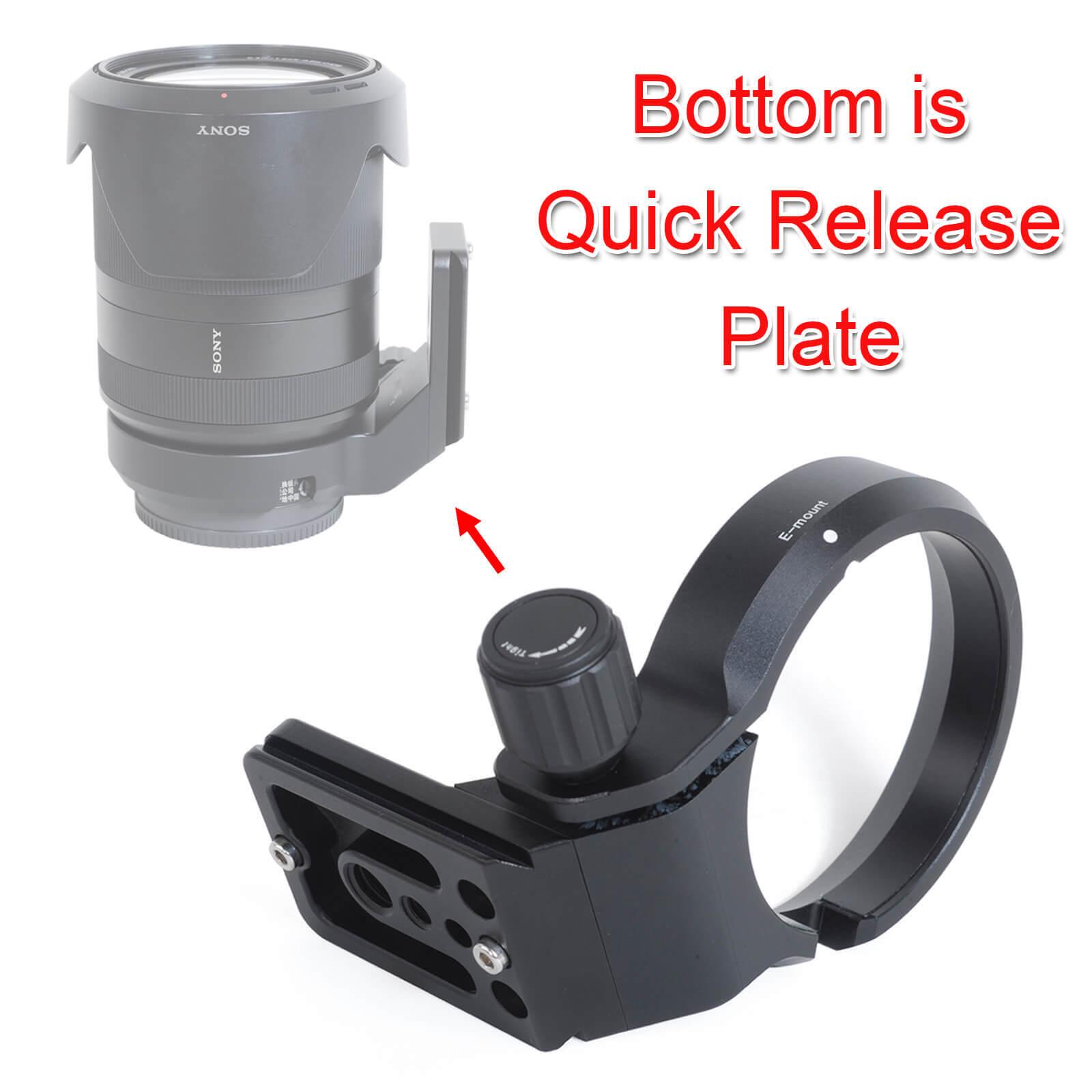 Lens Collar Tripod Mount Ring for Sony FE 28-70mm F3.5-5.6 OSS, FE 35mm f/1.4 ZA