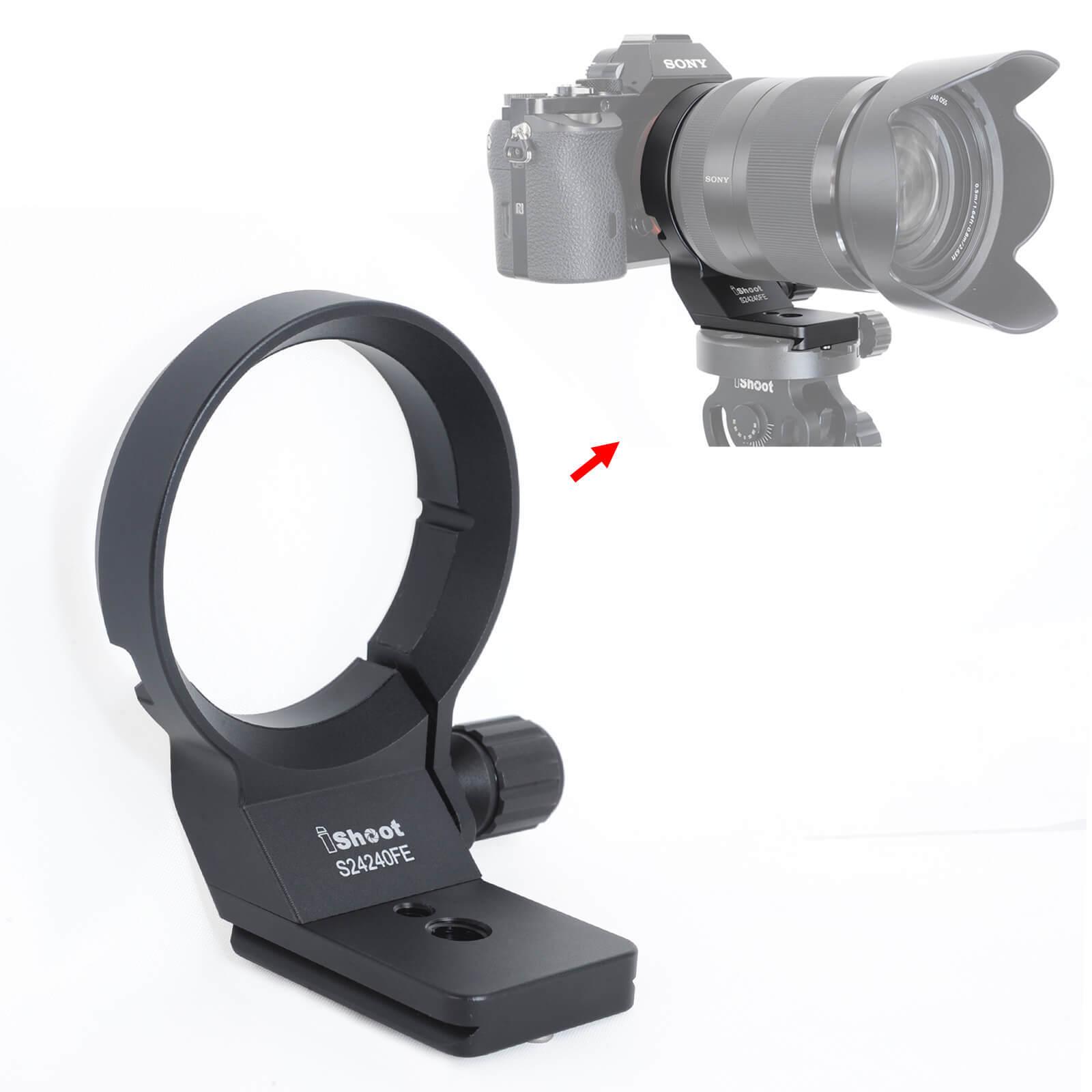 Tripod Mount Ring Lens Collar for Sony FE 85mm f/1.4 GM, Sony FE 85mm f/1.8 Lens