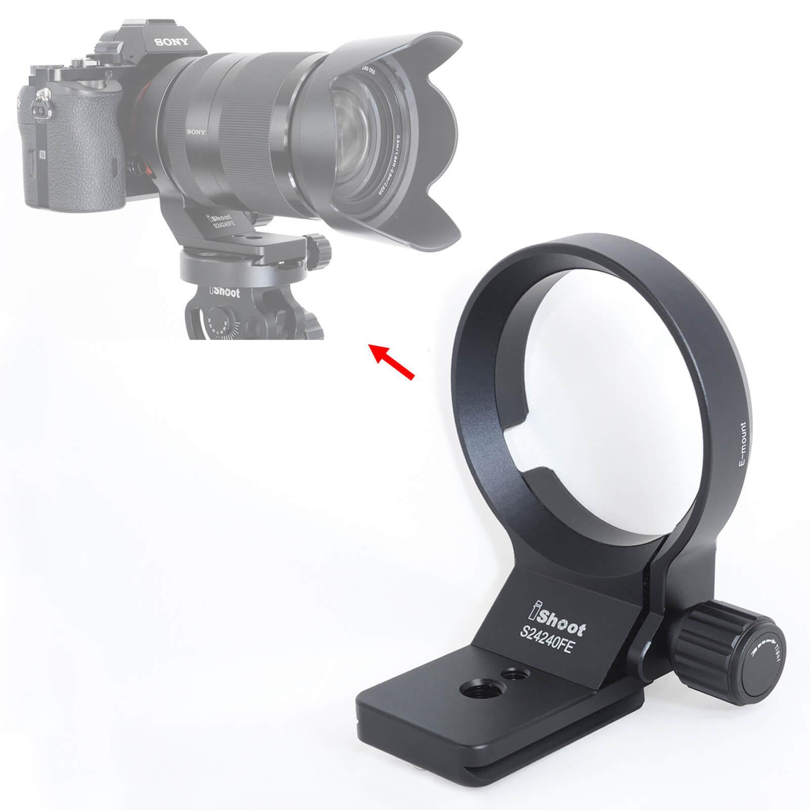 Tripod Mount Ring for Sony FE 90mm F2.8 Macro G OSS, FE 100mm F2.8 STF GM OSS