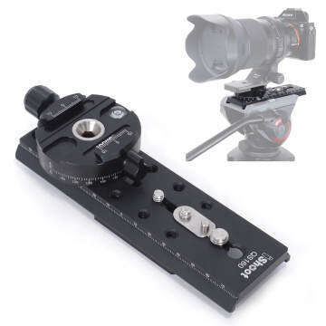 Converter for Arca-Swiss Quick Release Plate to Sachtler Tripod Fluid Video Head