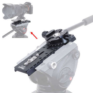 Manfrotto Tripod Fluid Head adapter