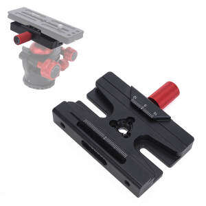 Camera Clamp for Quick Release Plate & Tripod Head of ARCA-SWISS Gitzo Manfrotto