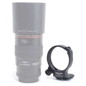 CNC Tripod Mount Ring D Lens Collar for Canon EF 100mm f/2.8L Macro IS USM Lens