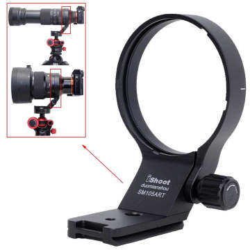 Metal Tripod Mount Ring Lens Collar for Sigma 100-400mm f/5-6.3 DG DN OS (E-mount)