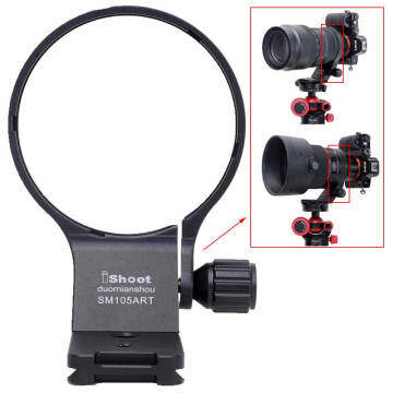 Metal Tripod Mount Ring Lens Collar for Sigma 105mm f/1.4 DG HSM Art (EF/FX/FE/L-mount)