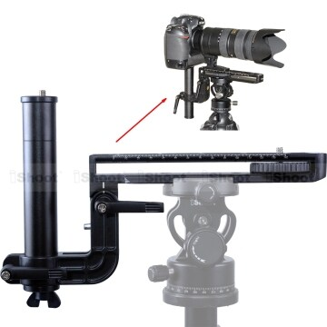 Telephoto Lens Bracket Long-Focus Long-Zoom Support with 20cm Quick Release Plate for Arca Fit Tripod Ballhead Canon Sony Camera