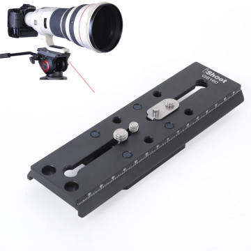 Quick Release Plate for Fluid Tripod Head Manfrotto 500 700 Sachtler FSB 10T/FSB
