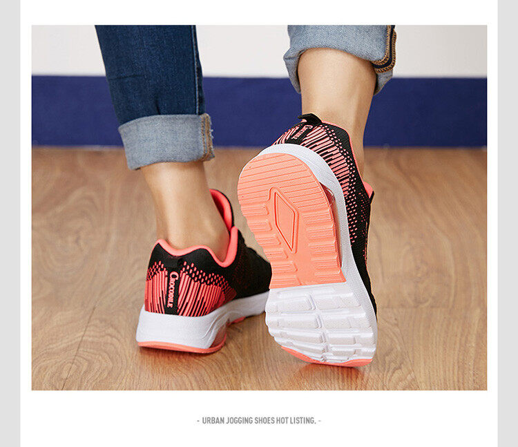 Femme New Air Mesh Cushioning Jogging Shoes