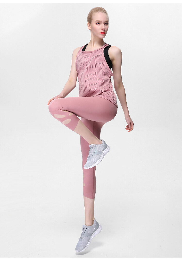 Hollow Vest Yoga Suit