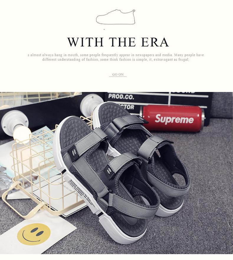 Plus Size Air Cushioning Men Sandals