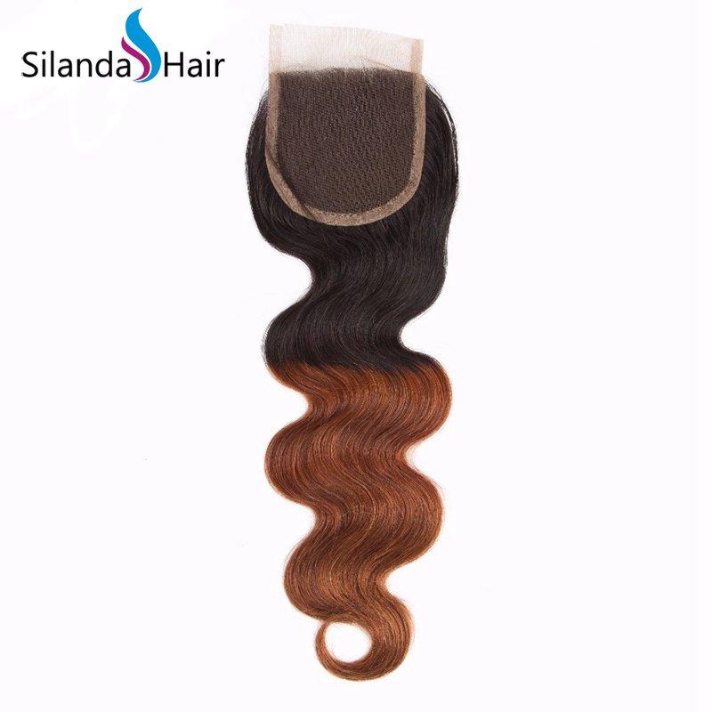 1B/33 Body Wave Remy Human Hair Ombre Hair Bundles