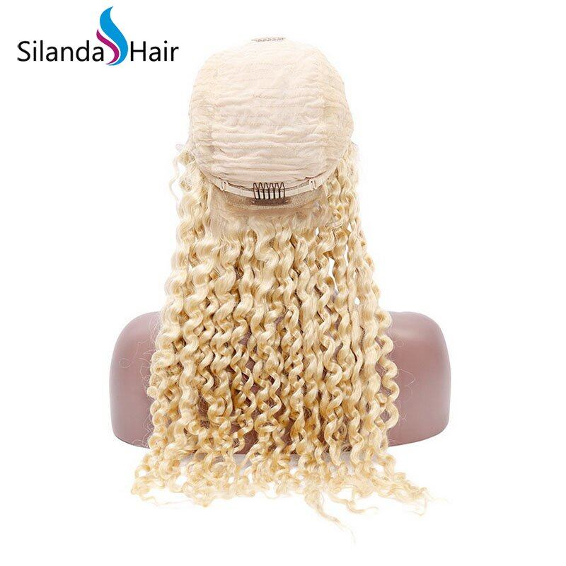 Silanda Hair Jerry Curly #613  Lace Front Full Lace Wigs 100% Real Remy Human Hair