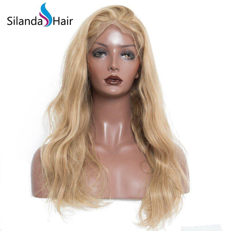 Silanda Hair Fashion Hairstyle #27 Body Wave Brazilian Remy Human Hair Lace Front Full Lace Wigs