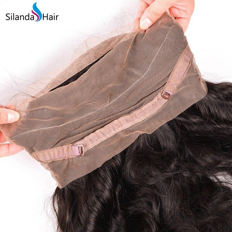 Silanda Natural Color Body Wave Bundles 3 Bundles 360 Lace Frontal JXCT-288