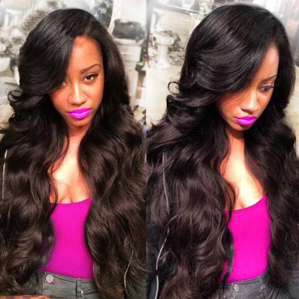 3 Bundleslot Brazilian Body Wave Virgin Human Hair Extensions For