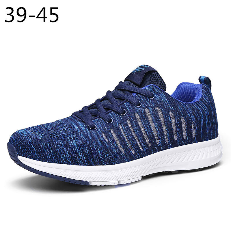 Preferential Flknit Breathable Shoes Mens Casual Sneakers  0