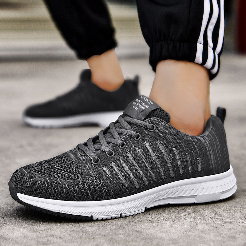 Preferential Flknit Breathable Shoes Mens Casual Sneakers  2