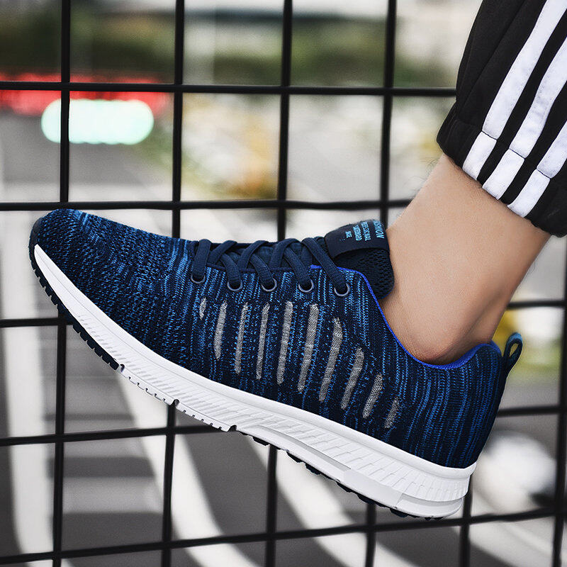 Preferential Flknit Breathable Shoes Mens Casual Sneakers  4