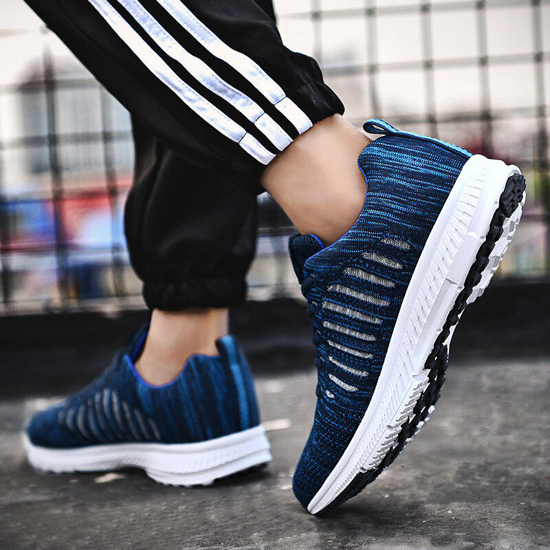 Preferential Flknit Breathable Shoes Mens Casual Sneakers  5