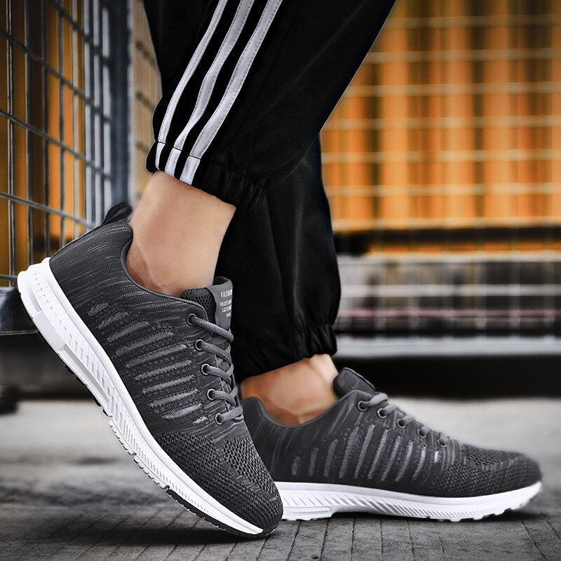 Preferential Flknit Breathable Shoes Mens Casual Sneakers  6