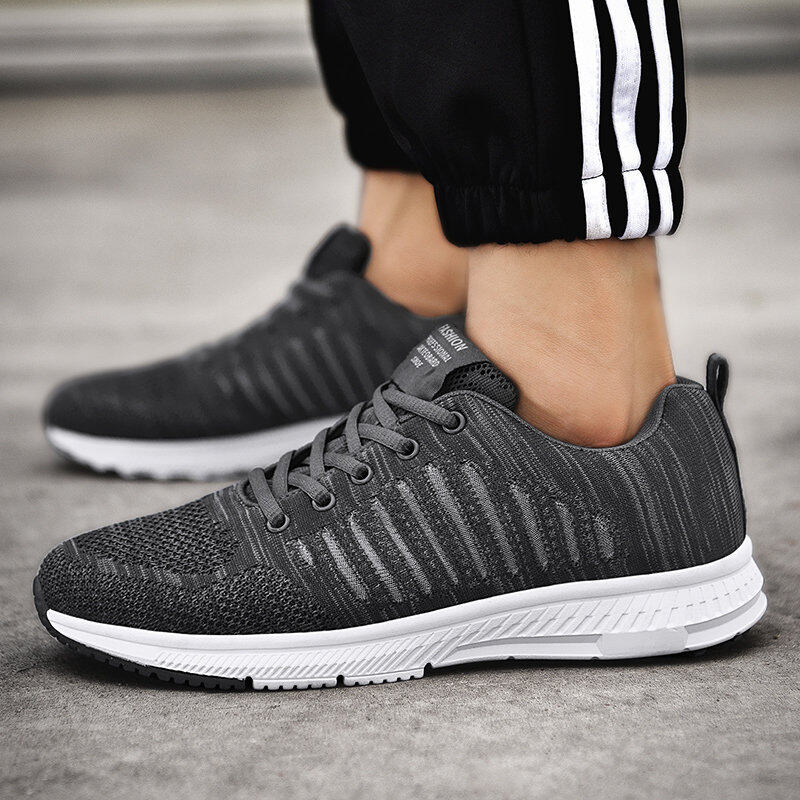 Preferential Flknit Breathable Shoes Mens Casual Sneakers  7