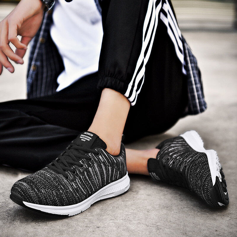 Preferential Flknit Breathable Shoes Mens Casual Sneakers  8