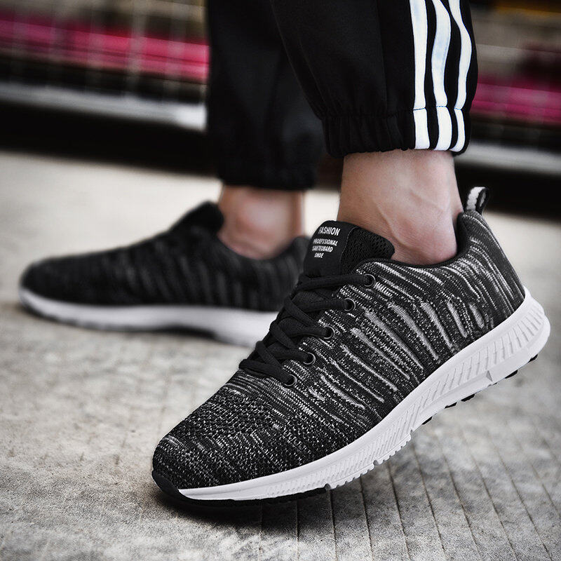 Preferential Flknit Breathable Shoes Mens Casual Sneakers  9