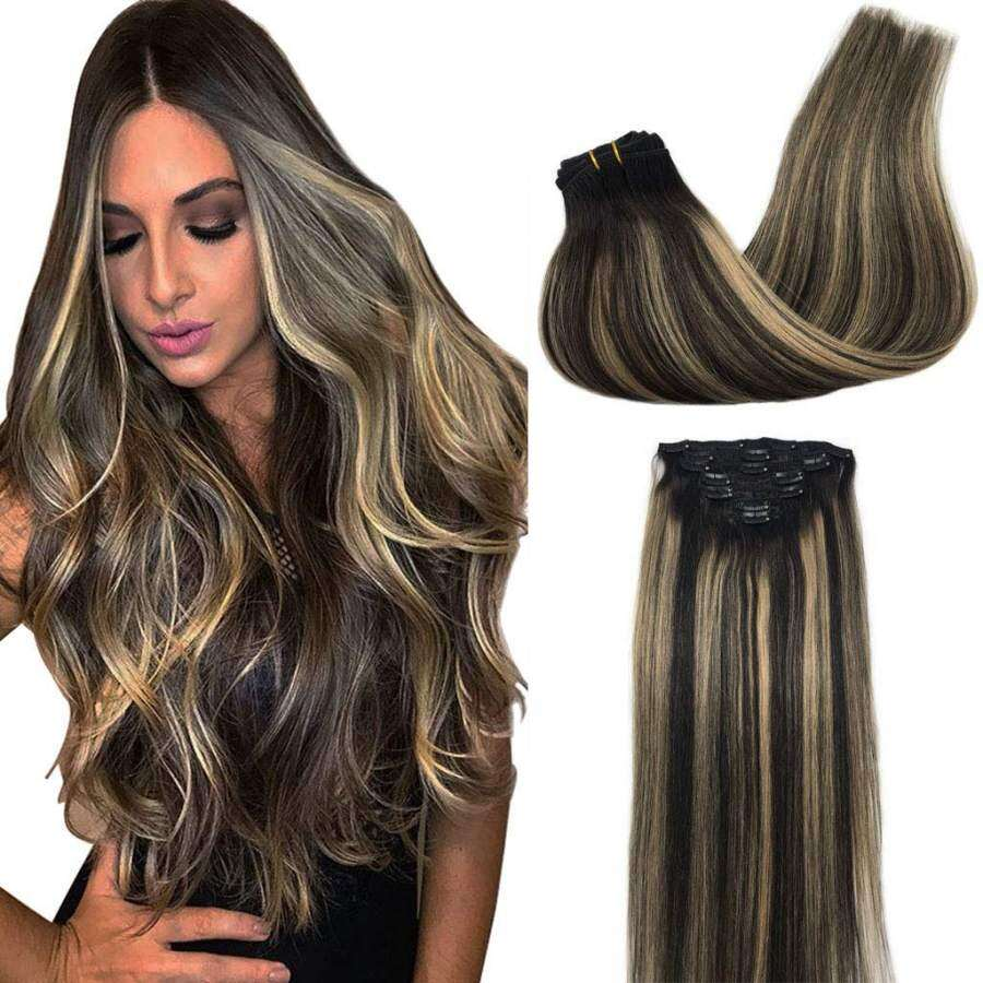 Details of Best Clip in Hair Extensions