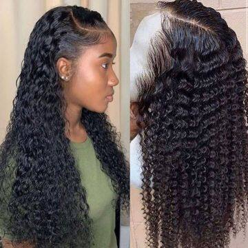 water wave wig short curly lace front human hair wigs for black women bob Long deep frontal brazilian wig wet and wavy hd fullwater wave wig curly lace front human hair wigs for black women bob Long deep frontal brazilian wiglace front human hair wigs for black women